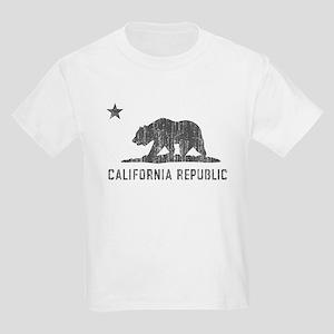 Vintage California Republic Kids Light T-Shirt