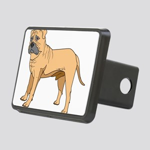 bull mastif Rectangular Hitch Cover