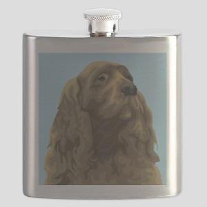 Sussex Spaniel Flask
