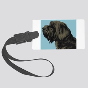 Wirehaired Pointing Griffon Large Luggage Tag
