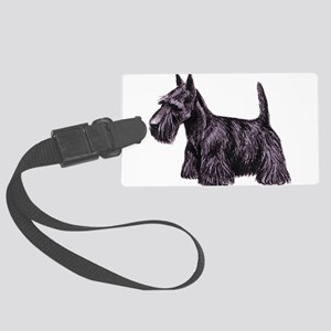 dover scottie Large Luggage Tag