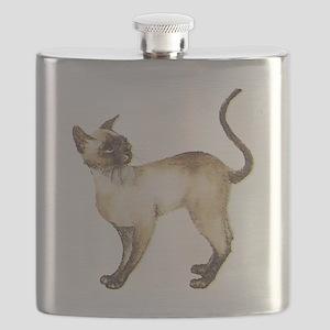 Siamese cat Flask