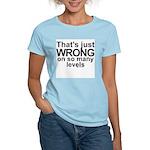 Wrong Women's Pink T-Shirt