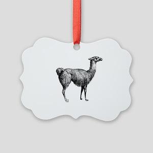 Iiama Picture Ornament