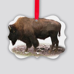 buffalo photo Picture Ornament