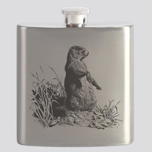 prairie dog Flask
