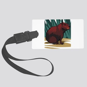 hog Large Luggage Tag