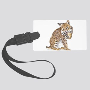 bobcat Large Luggage Tag