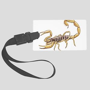 Scorpion Large Luggage Tag
