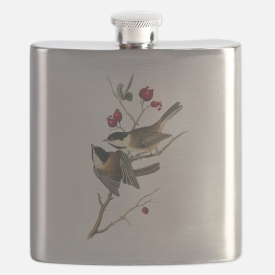 Black-capped Chickadee Flask