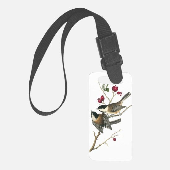 Black-capped Chickadee Luggage Tag