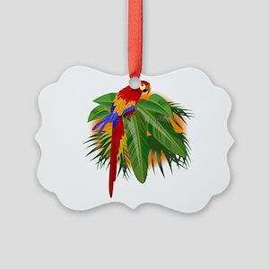 parrot Picture Ornament