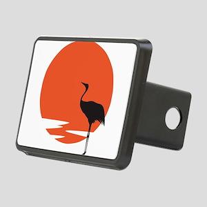 Crane bird Rectangular Hitch Cover
