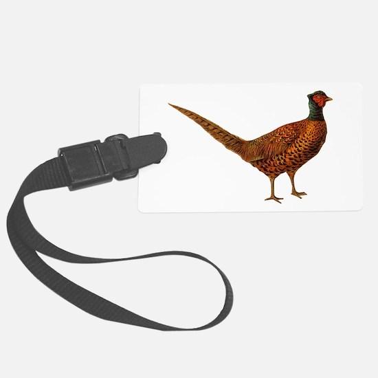 Pheasant Luggage Tag