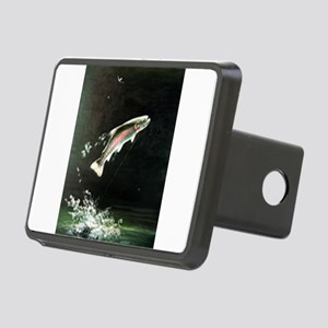 rainbow-trout-fish-jumping Rectangular Hitch C