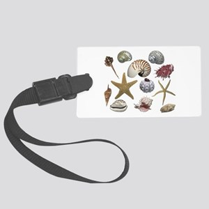 Shells Large Luggage Tag