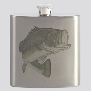 large mouth bass Flask