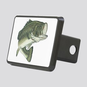 large mouth bass Rectangular Hitch Cover