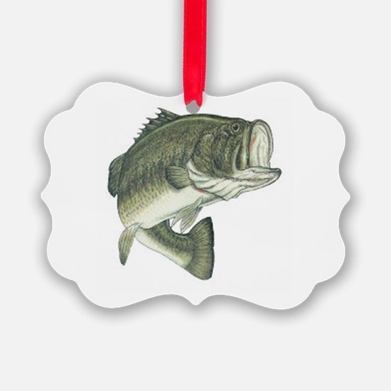 large mouth bass Ornament