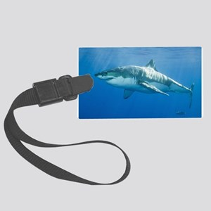 Great White Shark Large Luggage Tag