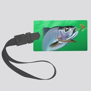Fishing Large Luggage Tag
