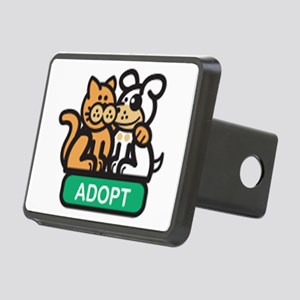 adopt animals Rectangular Hitch Cover