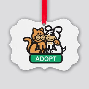 adopt animals Picture Ornament