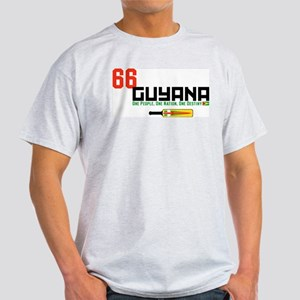 GuyanaCricketBatYellow T-Shirt