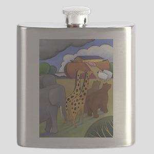 Noah's Ark Flask