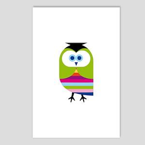 Smart Owl Graduate Postcards (Package of 8)