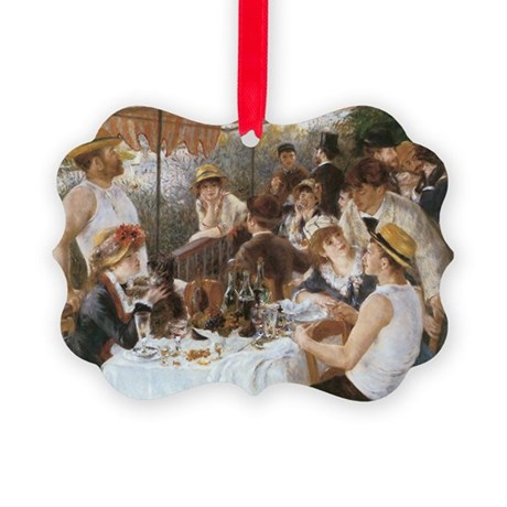 Luncheon of the Boating Party Picture Ornament