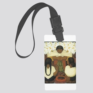 Flower Day Large Luggage Tag