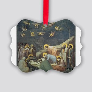 Lamentation of Christ Picture Ornament