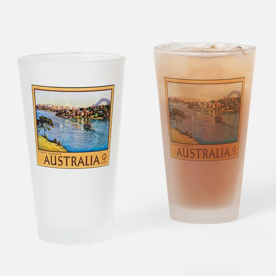 Australia Travel Poster 10 Drinking Glass