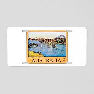 Australia Travel Poster 10 Aluminum License Plate