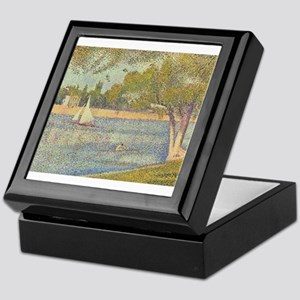 Seurat - Seine Keepsake Box