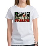 """""""Repeal Obamacare"""" Women's T-Shirt"""