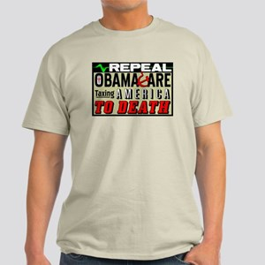 """""""Repeal Obamacare"""" Light T-Shirt"""