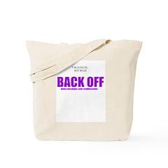 Back Off-girls Tote Bag