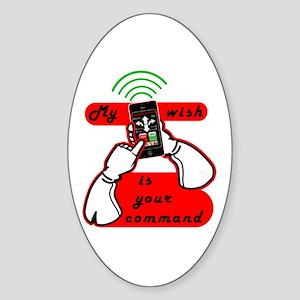 My Wish Sticker (Oval)