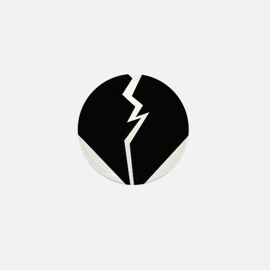 Broken Heart Mini Button