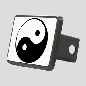 Yin Yang Rectangular Hitch Cover
