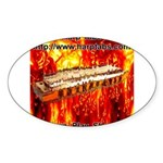 lava Sticker (Oval 10 pk)