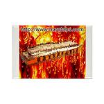 lava Rectangle Magnet (100 pack)