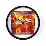lava Wall Clock