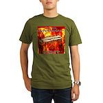 lava Organic Men's T-Shirt (dark)