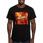 lava Men's Fitted T-Shirt (dark)