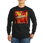 lava Long Sleeve Dark T-Shirt