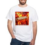 lava White T-Shirt