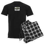 harmonica1 Men's Dark Pajamas